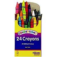 Colorationsクレヨンパックの24 ( Item # crs24 )