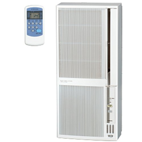 コロナ 窓用エアコン(冷暖房兼用・おもに4.5~7畳用 シェルホワイト)CORONA CWH-A1818-WS