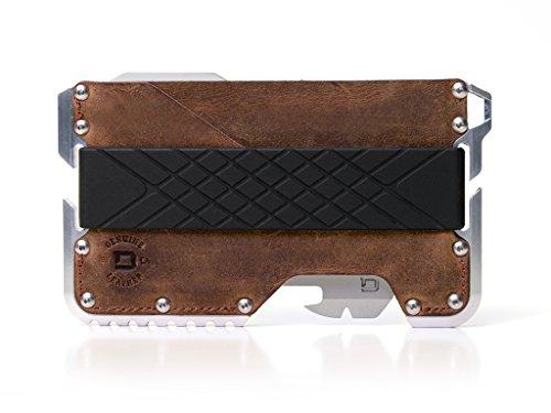 DANGO Tactical Wallet T01 マルチツール 付 ウォレット カードケース 多機能 財布 パラコードストラップセット (ブラウン) [並行輸入品]
