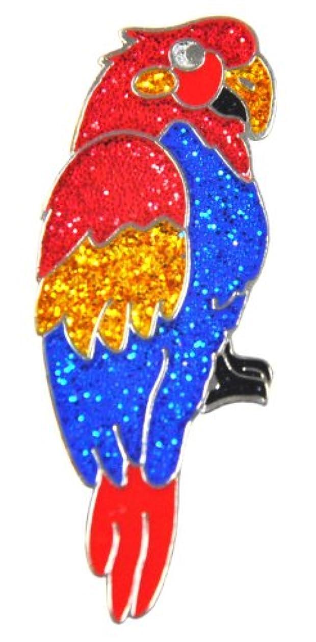 誓いブルゴーニュ適応Navika Parrot Glitzy Ball Marker with Hat Clip