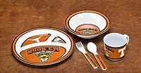 BSI PRODUCTS 31034 Kids 5 Pc. Dish Set- Texas Longhorns