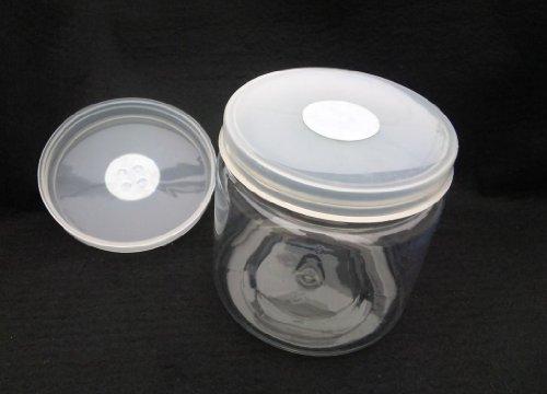 硬質クリアボトル 1300ml(1400タイプ)×32本セット(穴あけ加工済、フィルター付き)