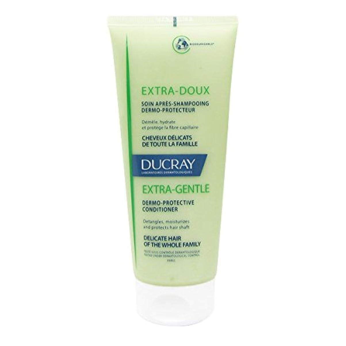 スケートしょっぱい可動式Ducray Extra Soft Hair Conditioner 200ml [並行輸入品]