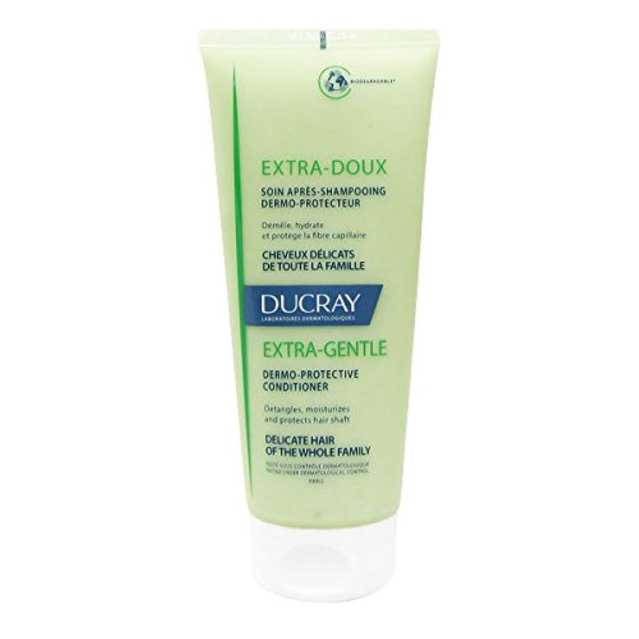 地震ゴージャス右Ducray Extra Soft Hair Conditioner 200ml [並行輸入品]