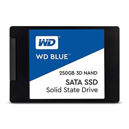 【国内正規代理店品】WD 内蔵SSD 2.5インチ / 250GB / WD Blue 3D / SATA3.0 / 5年保証 / WDS250G2B0A-EC
