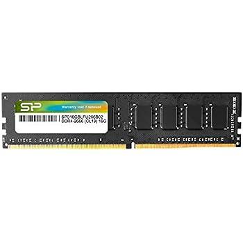 シリコンパワー デスクトップPC用メモリ DDR4-2666(PC4-21300) 16GB×1枚 288Pin 1.2V CL19 永久保証 SP016GBLFU266B02