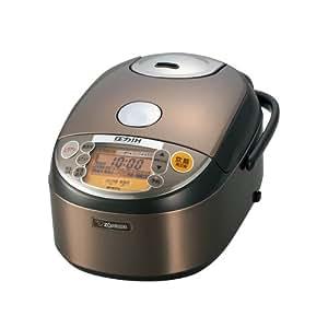 象印 炊飯器 圧力IH式 5.5合 ステンレスブラウン NP-NY10-XJ
