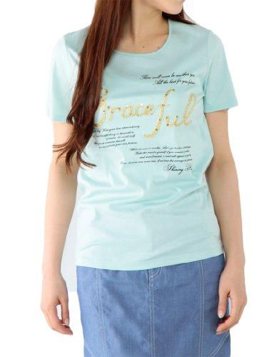 刺繍ロゴ入りTシャツ エーシーデザイン バイ アルファキュービック