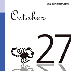 10月27日 My Birthday Book