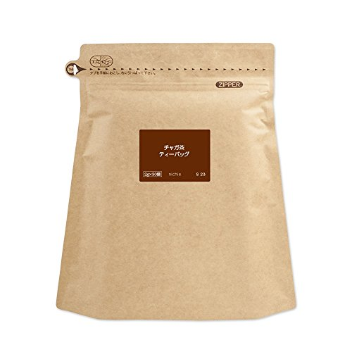 nichie ロシア産 チャガ茶 ( チャーガ 100% ) 2g×30個 ティーバッグ