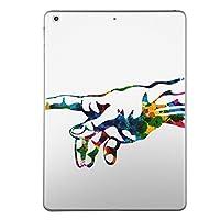 iPad mini4 スキンシール apple アップル アイパッド ミニ A1538 A1550 タブレット tablet シール ステッカー ケース 保護シール 背面 人気 単品 おしゃれ クール 手形 カラフル シンプル 003629