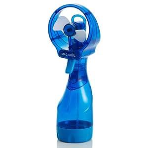 冷感ミストファン クイッククール(ブルー)熱中症・暑さ対策、予防 | 携帯ミスト | 柔らかファンで安全&風量しっかり DOCQC4BL