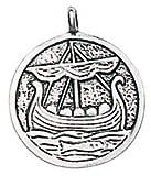 TroveのValhallaロービングLongboat for保護on the Sea of LifeペンダントチャームAmulet Talisman