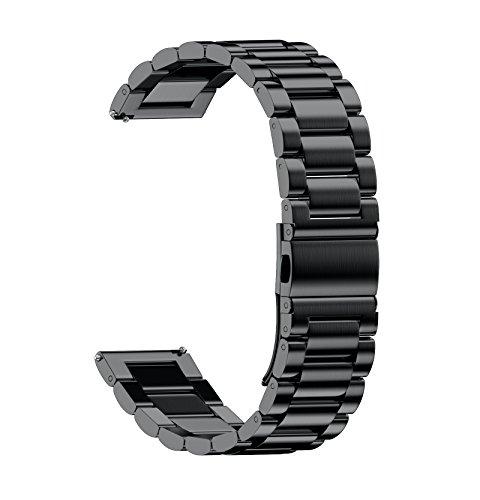 NotoCity 20mm 腕時計バンド ステンレス 腕時計...