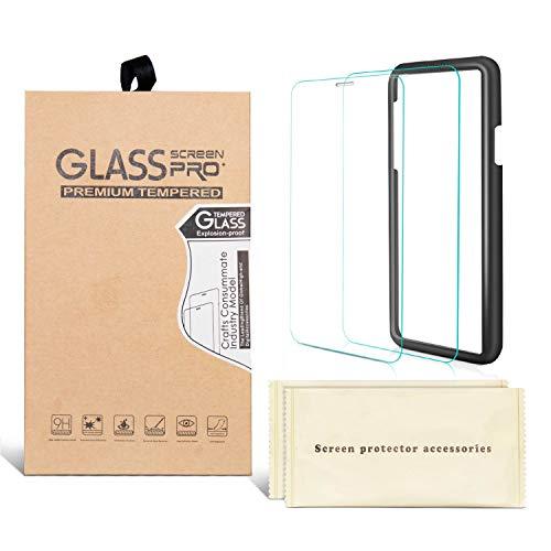 iphone xs max ガラスフィルム 全面 さらさら 2.5d iTrunk iphonexsmax 強化ガラス 保護フィルム 6.5インチ 硬度9H 指紋防止 耐衝撃 ラウンドエッジ 貼付け簡単 ガイド付き 【2枚セット】
