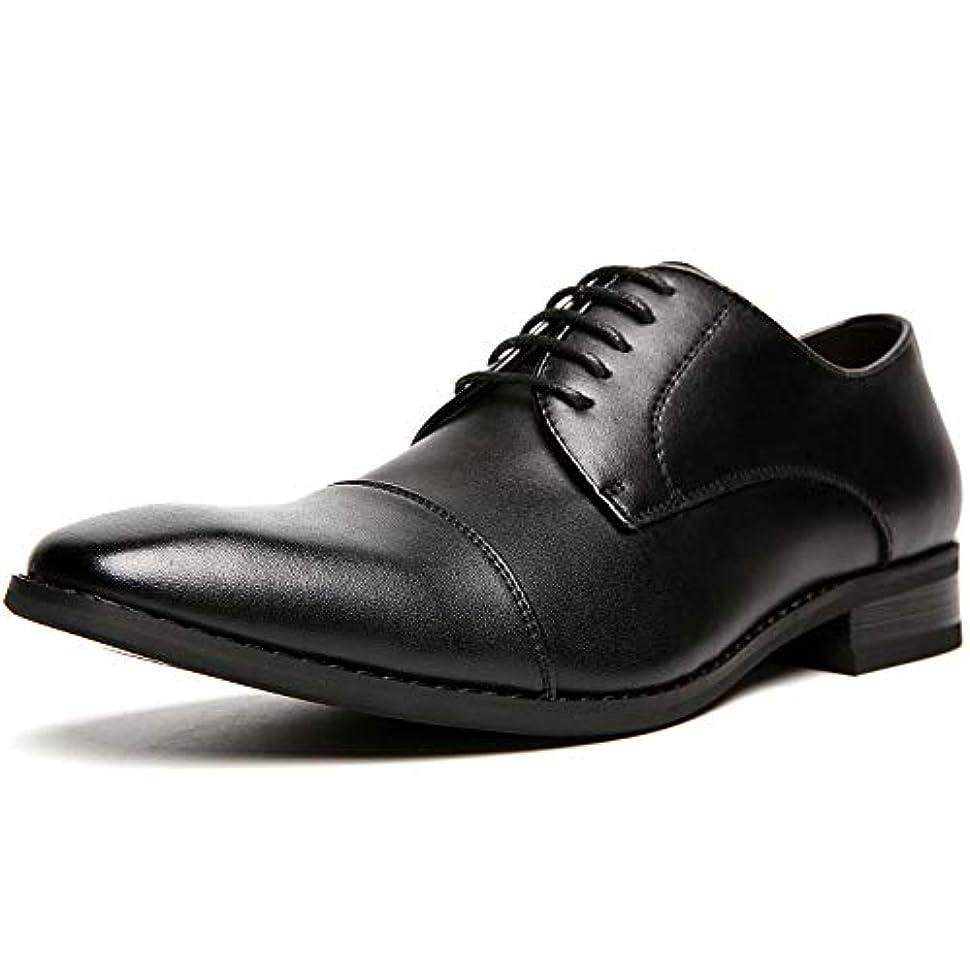 群がるメタリックぞっとするような(フォクスセンス) Foxsense ビジネスシューズ 革靴 本革 ストレートチップ 紳士靴 外羽根