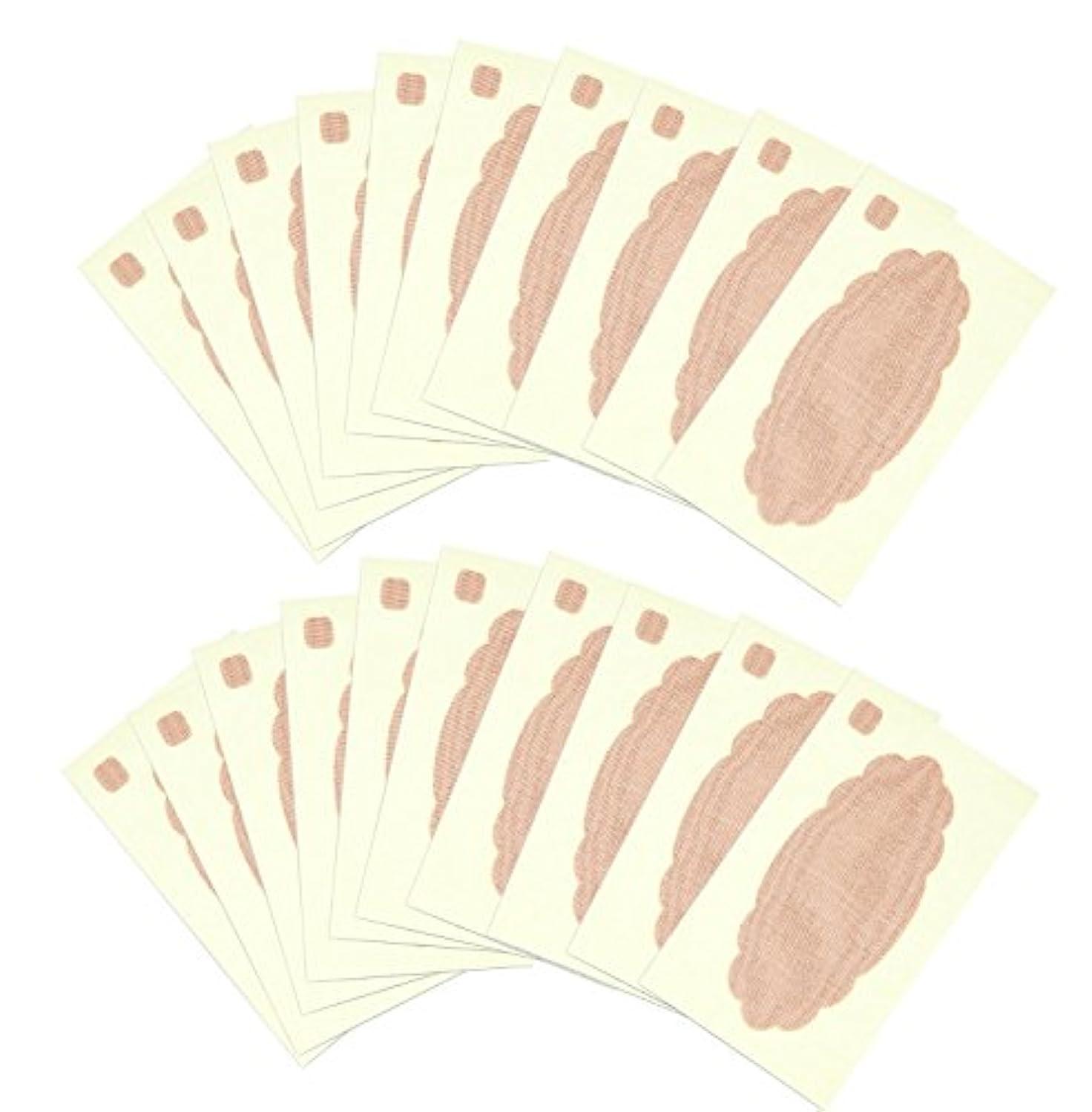 帽子パスポート在庫ワキに直接貼る汗とりシートワイド 20枚入A02