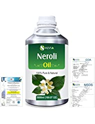 Neroli (Citrus Aurantium) 100% Natural Pure Essential Oil 5000ml/169fl.oz.