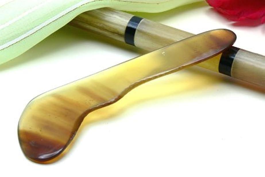 困ったロッジ最大かっさ板、美容、刮莎板、グアシャ板,水牛角製