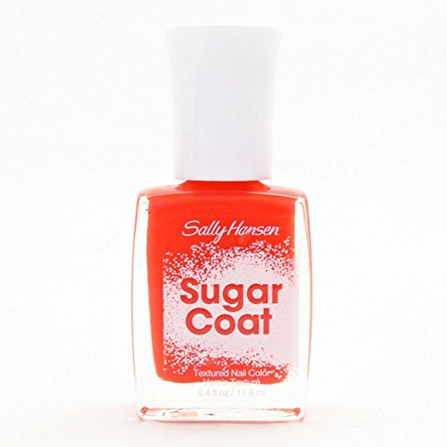 荒廃する迷惑生SALLY HANSEN SUGAR COAT TEXTURED NAIL COLOR #260 CANDY CORN