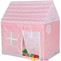 llzj Children Play Tent House CastleプリンセスPrinceインドアアウトドア使用Portable Folding Carry CubbyケースPlaygroundストレージ登山おもちゃゲームtent-0468