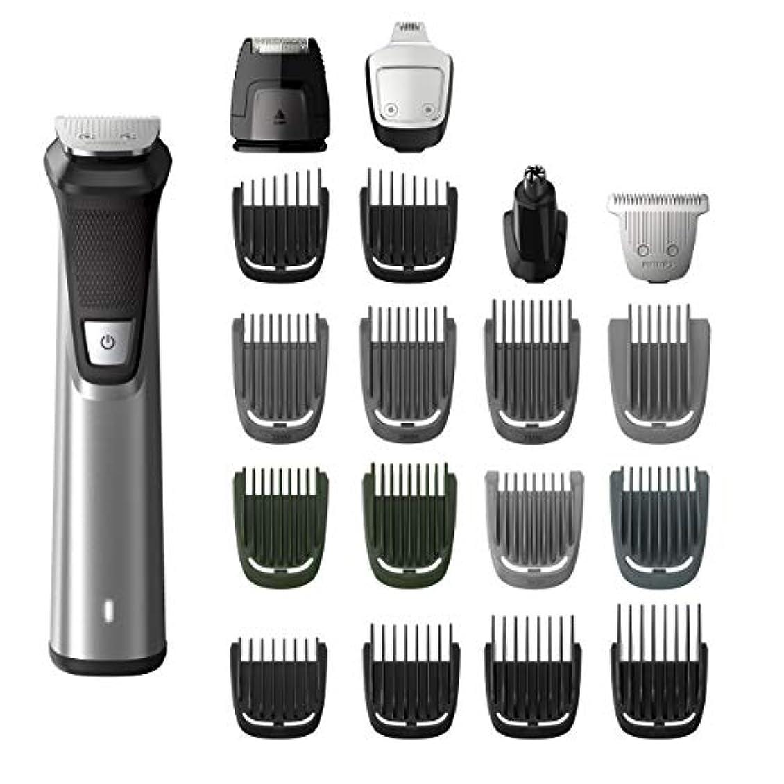 現代フォージビジョンPhilips Norelco MG7750/49 Multigroom 7000 Face Styler and Grooming Kit, 23 Trimming Pieces, DualCut Technology...
