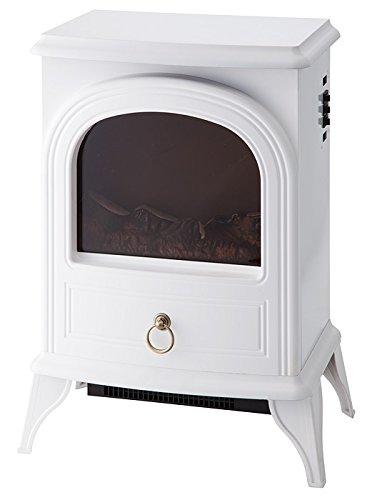 ノスタルジア 暖炉型ヒーター ホワイト CHT-1540WH