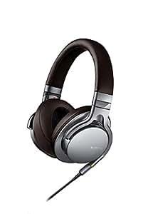 SONY 密閉型ヘッドホン ハイレゾ音源対応 リモコン・マイク付 シルバー MDR-1A/S
