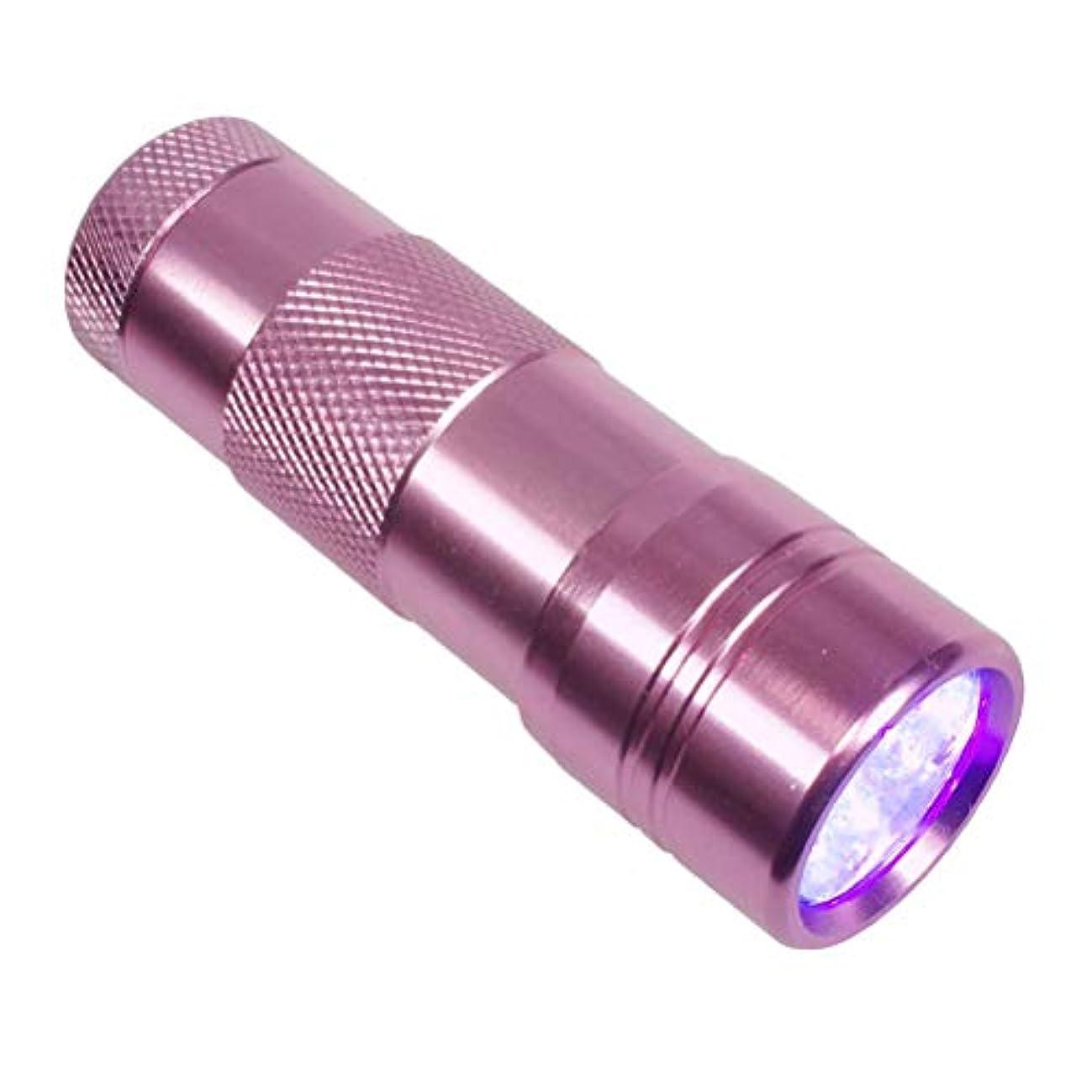 創造矛盾あまりにもジェルネイル用UVライト ペン型LEDライト ミニサイズ 携帯用ハンディライト