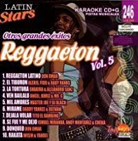 Karaoke: Reggaeton 5 - Latin Stars Karaoke by Karaoke Latin Stars