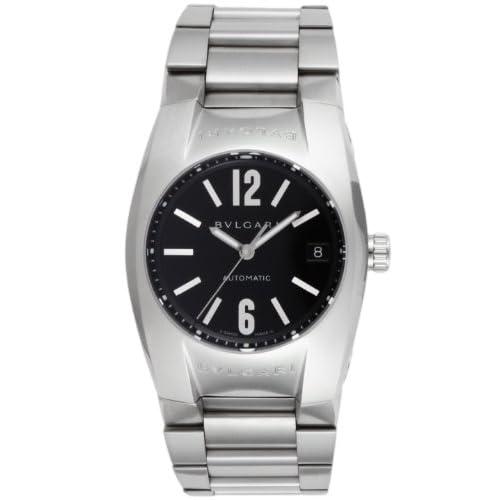 [ブルガリ]BVLGARI 腕時計 エルゴン ブラック文字盤  自動巻 デイト EG35BSSD メンズ 【並行輸入品】