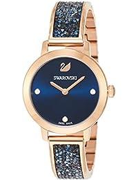 [スワロフスキー]Swarovski 腕時計 コズミックロック【COSMIC ROCK】クォーツ ローズゴールドカラーケース ブルー文字盤 レディース 5466209 レディース 【並行輸入品】