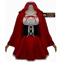赤ずきん風コスチューム ハロウィン衣装コスプレL