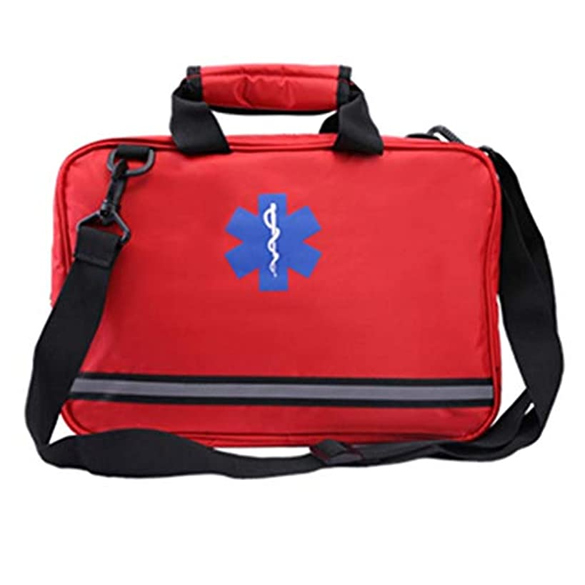 緊急用バッグ 車の救急箱旅行のための携帯用防災地震の緊急のキット、家、オフィス、車、キャンプ、職場および屋外/ 36 X 9.5 X 23 Cm HMMSP