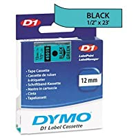 DYMO? D1 Polyester High-Performance Label Cartridge TAPEDYMO45001/2BK/GN 5720-02 (Pack of5) [並行輸入品]