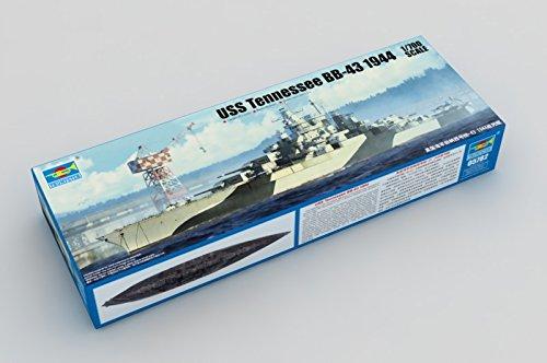 トランペッター 1/700 米海軍 テネシー級戦艦 BB-43 テネシー 1944【並行輸入品】