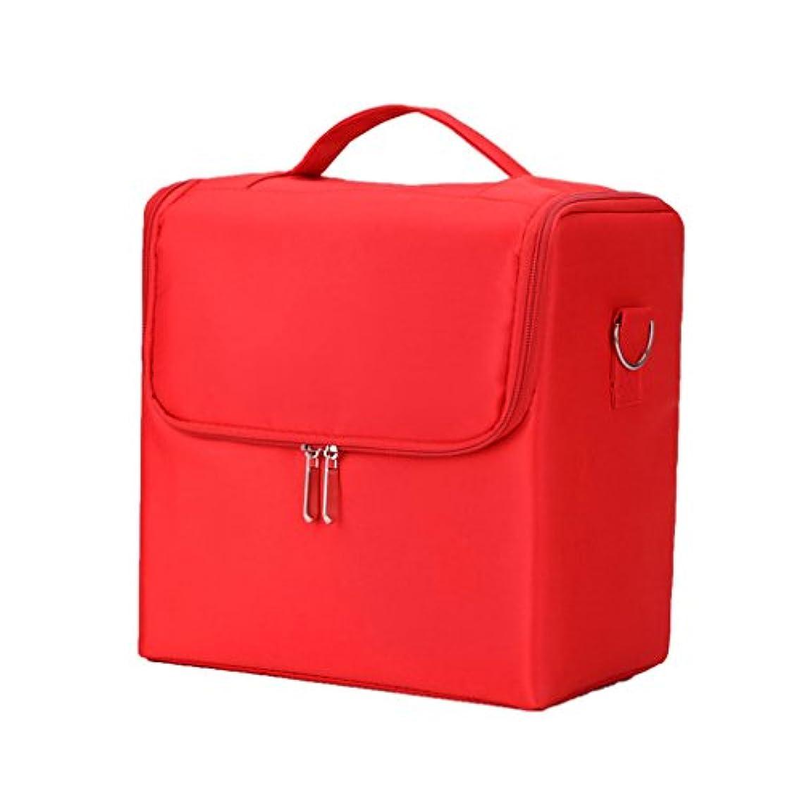 将来の無駄に親密なポータブルファブリックメークアップケースプロフェッショナル化粧ケース多機能ブラシネイルメイクアップアーティストストレージバッグ