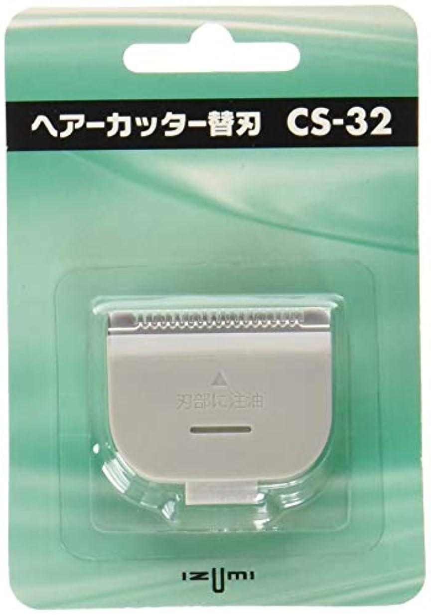 アルファベット動脈休憩するIZUMI(泉精器製作所) バリカン?ヘアーカッター用替刃 CS-32