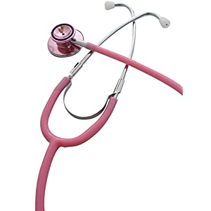聴診器ナーススコープ(ダブル) : ピンク