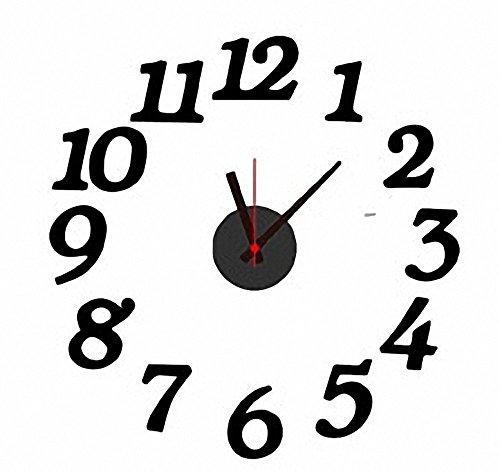 Sherry手作り DIY CLOCK 壁掛け 時計 お好みのレイアウト デザイン インテリア クロック (数字)