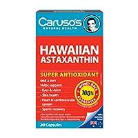 Carusos Natural Health Hawaiian Astaxanthin 30 Capsules