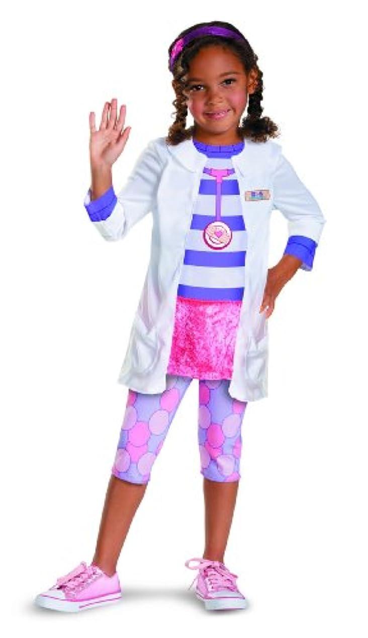 工業化する社会主義もう一度コスチューム ドックはオモチャドクター 女の子 子供 4歳 110-125cm Disguise 59084