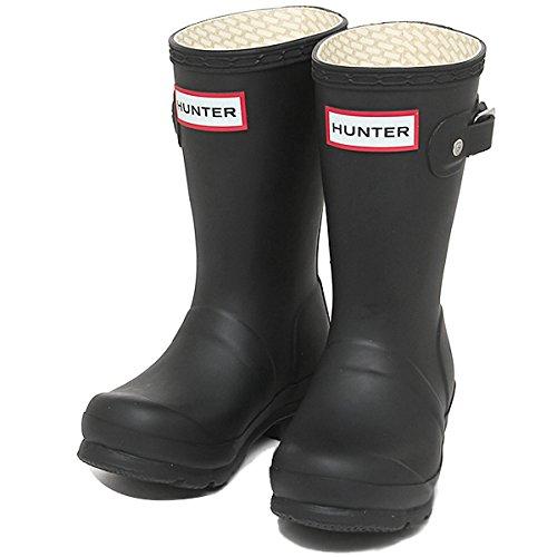 ハンター ブーツ キッズ HUNTER W23500 BLK ORIGINAL KIDS レインブーツ/長靴 BLACK[並行輸入品]