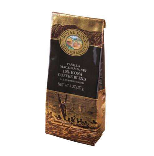 ロイヤルコナコーヒー バニラマカダミア 227g