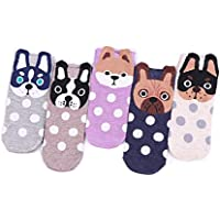 TY Clothing Girls & Women Cartoon Funny Cute Animals Patterned Socks 7