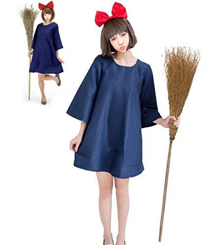 魔女の宅急便 コスプレ仮装 キキ風 ワンピース レディース フリーサイズ