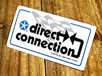 ステッカー モパー 復刻 クライスラー MOPAR Direct Connection サイズS_SC-DD634-MON