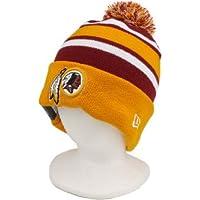 The New Era Washington Redskins NFL On Field Sport Knit Winter Hat Maroon/Gold Size One Size