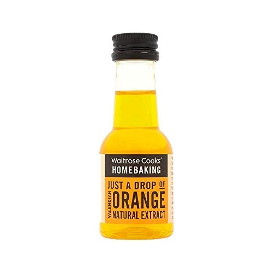 祖父母を訪問ガソリン帝国主義バレンシアオレンジエキス38ミリリットル (Waitrose) (x 4) - Valencian Orange Extract Waitrose 38ml (Pack of 4)