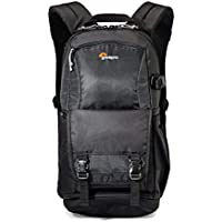 Lowepro Fastpack Bp 150 AW II, Travel-Ready Backpack Designed to Fit A DSLR, 2-3 Extra Lenses, A 15 Inch Laptop, Tablet and Space for Your Personal Gear, Black, (LP36870-PWW)